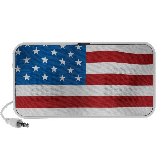 US Flag iPod Speaker