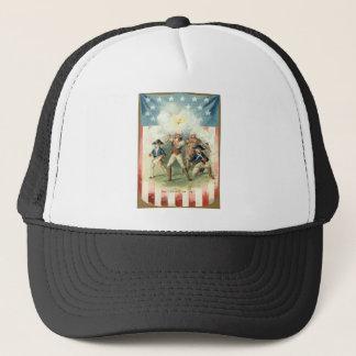US Flag Spirit of 76 Soldier Drummer Boy Trucker Hat
