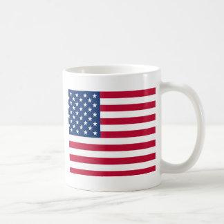 US Flag Stars and Stripes Coffee Mug