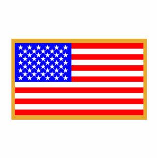 US Flag Statuette