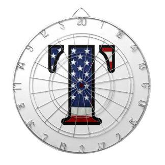"US Flag ""T"" Dartboards"