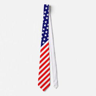 US Flag tie