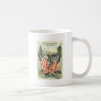 US Flag Tombstone Civil War Parade Coffee Mug