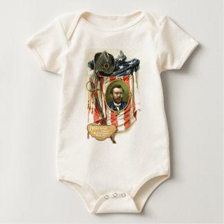 US Flag Ulysses S Grant Sword Cavalry Baby Bodysuit