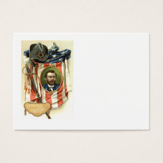 US Flag Ulysses S Grant Sword Cavalry Business Card