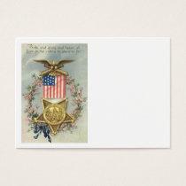 US Flag Union Civil War Medal Eagle Wreath