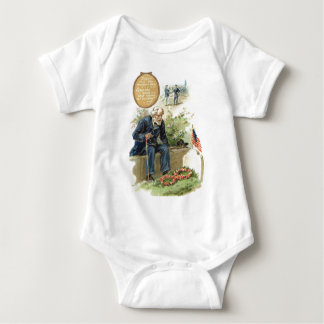 US Flag Union Soldier Cemetery Tombstone Shirt