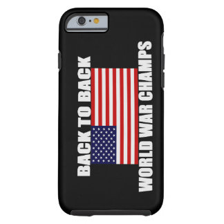 US Flag World War Champs iPhone 6 case