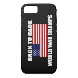US Flag World War Champs iPhone 7 case