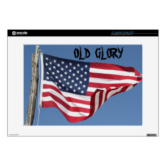 US FLAG Zazzle Skin Laptop Skins