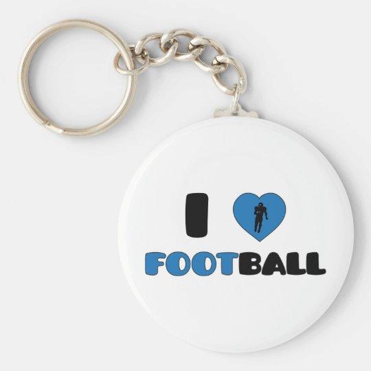 US Football Keychain