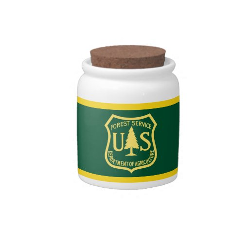 US Forest Service Candy Jars