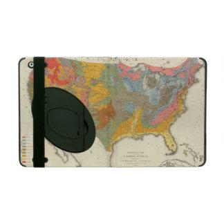 US Geological Map iPad Folio Cases
