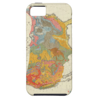 US Geological Map iPhone SE/5/5s Case