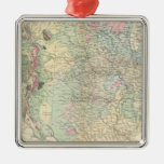 US geological map Ornament
