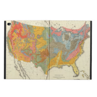 US Geological Map Powis iPad Air 2 Case