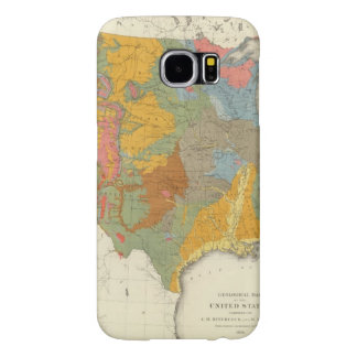 US Geological Map Samsung Galaxy S6 Case