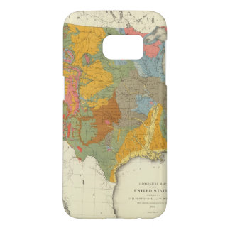US Geological Map Samsung Galaxy S7 Case