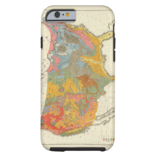 US Geological Map Tough iPhone 6 Case