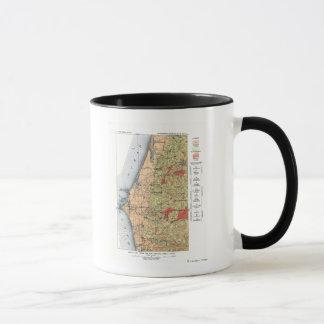 US Geological Survey Map Mug