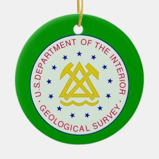 US Geological Survey Ornament