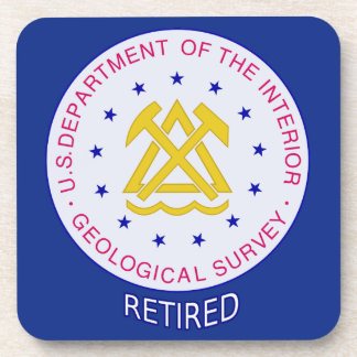 US Geological Survey Retired Drink Coasters