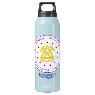 US Geological Survey Retired Insulated Water Bottle