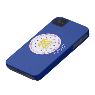 US Geological Survey Retired iPhone 4 Case-Mate Case