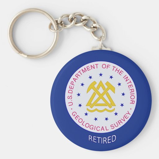US Geological Survey Retired Key Chains
