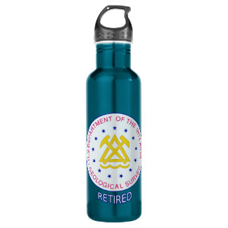 US Geological Survey Retired Stainless Steel Water Bottle