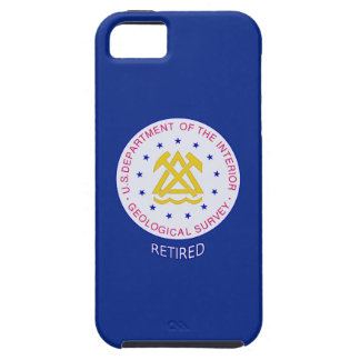 US Geological Survey Retired Vibe iPhone 5 Case