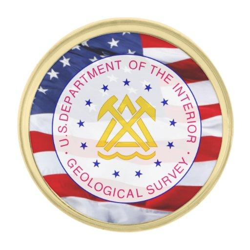 US Geological Survey Shield Lapel Pin
