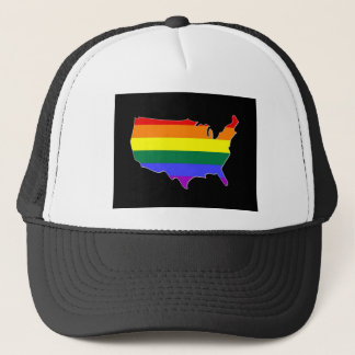 US GLBT Pride Trucker Hat