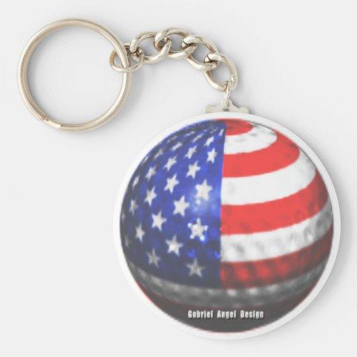US Golf Keychains
