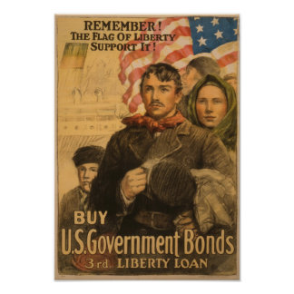US Government Bonds Poster