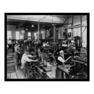 US Government Printing Shop 1910 Posters