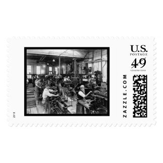 US Government Printing Shop 1910 Stamp