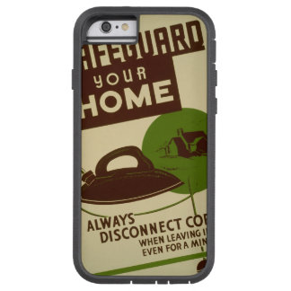 US Government Vintage Safety Irons Tough Xtreme iPhone 6 Case