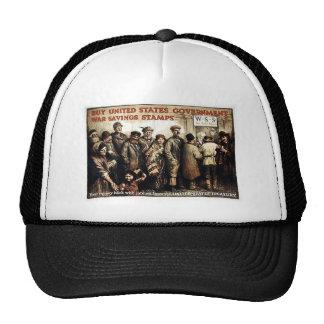Us Govt War Savings Stamps Trucker Hat