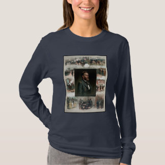 US Grant's Career In Pictures T-Shirt