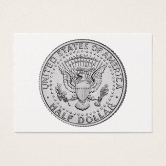 US Great Seal Half Dollar Business Card