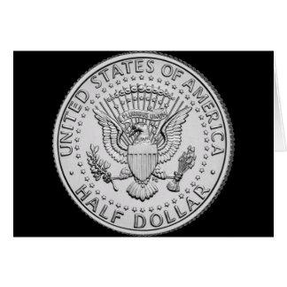 US Great Seal Half Dollar Card