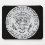 US Great Seal Half Dollar Mouse Mats