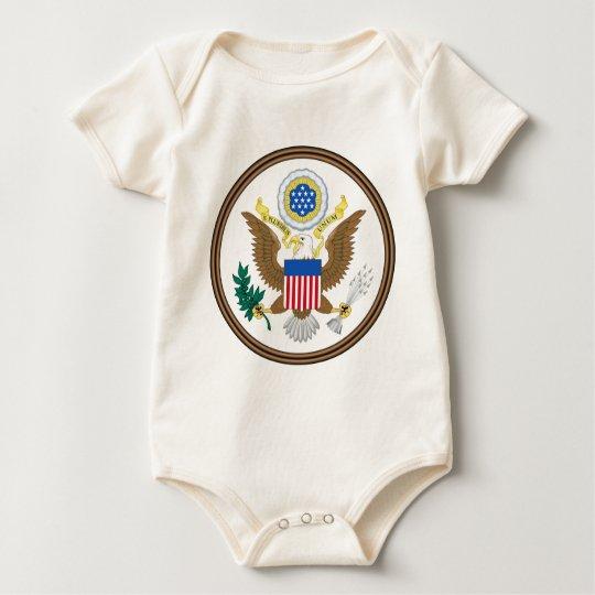 US Great Seal Obverse Baby Bodysuit