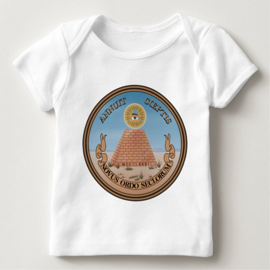 US Great Seal Obverse (Reverse) Side Baby T-Shirt