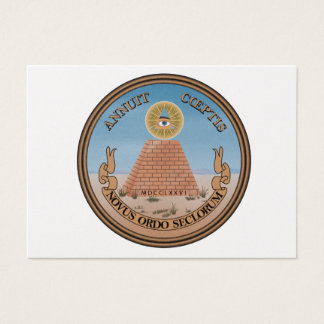 US Great Seal Obverse (Reverse) Side Business Card