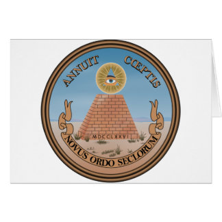 US Great Seal Obverse (Reverse) Side Card