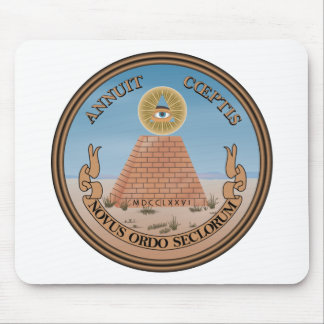 US Great Seal Obverse (Reverse) Side Mouse Pad