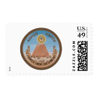 US Great Seal Obverse (Reverse) Side Stamp