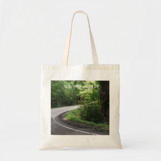 US Highway 129 Tennessee reusable tote bag grocery